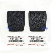 FOR TOYOTA Corolla MR2 Tercel Paseo pair of pedal pads GENUINE AE86 KE70 AE80 90