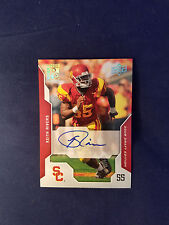 Keith Rivers #9 Southern California Upper Deck 2008 Autographed Rookie Card