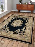 Traditional Aras Wool Carpet Indian Oriental Hand Knotted Area Rug