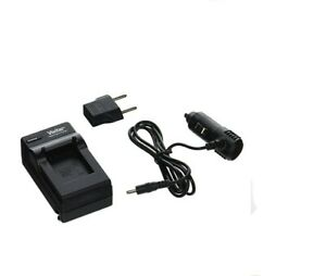Vivitar QC-816 AC/DC Rapid Battery Charger Compatible with GoPro Hero3 Battery