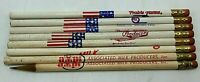 Vintage Dairy Advertising Pencils Prairie Farms Associated Milk Products Produce