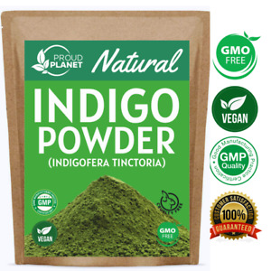 Natural Indigo Powder for Hair Dye | Natural Hair Color | Indigofera tinctoria
