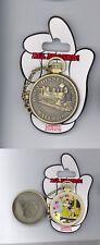 Walt Disney World Minnie Mouse Train Railroad Pocket Watch Hinged LE Pin & Card