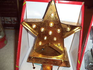 Holiday Style Christmas Stocking Holder Silver Metal / Gold Snowflake - U Pick