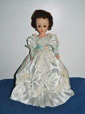 """Vintage 18"""" Brunette High Heel Fashion Doll"""