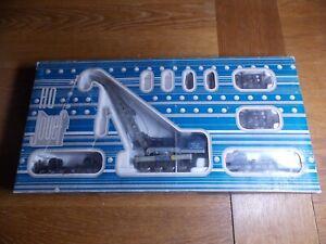 JOUEF 6963 85 TON BREAKDOWN CRANE No 359 VILLENEUVE Blue Livery. HO Gauge