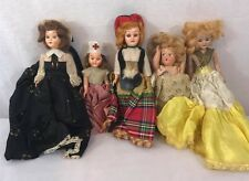Lot Vintage Small Dolls hard plastics mix sizes valuable dolls