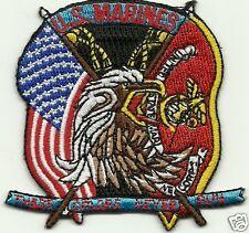 United States Marines  Flag And U.S. Flag  U.S.M.C.  PATCH