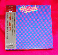 FOCUS In And Out Of Focus JAPAN SHM MINI LP CD VICP-70049