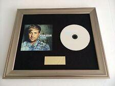 PERSONALLY SIGNED/AUTOGRAPHED KIAN EGAN - HOME FRAMED CD PRESENTATION. WESTLIFE