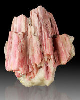 "3.5"" Pink SERANDITE Crystals w/Analcime Mt. St.Hilaire 1988 Pink Pocket for sale"