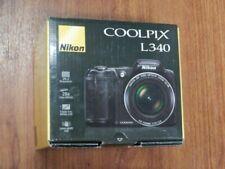 Open Box - Nikon COOLPIX L340 Camera 20.2MP camera - BLACK - 018208264841