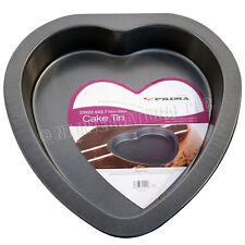 23CM HEART SHAPE BAKING TRAY CAKE NON STICK KITCHEN TIN PAN OVEN DISH BAKEWARE
