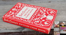 VTG 1950 Betty Crocker's Picture Cookbook First Edition HC & BONUS Cake Icing BK