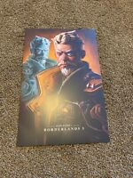 Borderlands 3 Diamond Loot Chest Collectors 1 Character Lithograph Zane Flynt