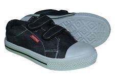 Chaussures noires en toile pour garçon de 2 à 16 ans pointure 32
