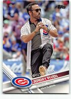 2017 Topps Series 1 First 1st Pitch Insert FP-4 Jeremy Piven