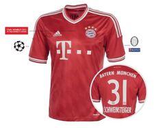 Trikot Adidas FC Bayern Champions League Finale Wembley 2013 - Schweinsteiger 31