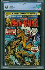 Man-Thing #13 (1975) CBCS Graded 9.8 ~ 1st Appearance Captain Fate ~ Not CGC