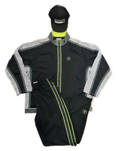 Vintage OG Y2K Nike Air Jordan Warm Up Track Suit Full Set Outfit Sz M- Runs Big
