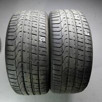 2x Pirelli P Zero AO 255/40 R20 101Y DOT 2818 6,5 mm Sommerreifen