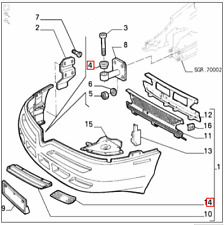 Genuine Brand New Alfa Romeo 916 GTV & Spider Front Bumper Bracket Bush 60606344