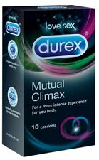 BOX of Durex Mutual Climax Performax Condoms Ribbed Dotted Delay Last Longer