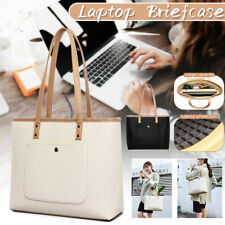 Women Office Business  Briefcase Leather Laptop Tote Case Handbag Casual