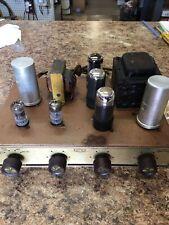 Vintage Qual Kit Audio tube amplifier model 2200 6v6 for Parts / Repair