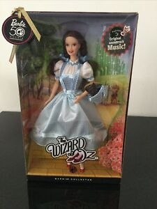 Mattel Barbie The Wizard Of Oz Dorothy 50th Anniversary Pink Label N6559