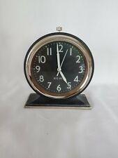 Big Ben Vintage Design Metal Case Alarm Clock used and tested