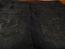 Silver Jeans SUKI Super Skinny Women polka dot pattern Jeans W31 L31
