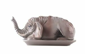 ELEPHANT Ceramic Butter Dish, by Blue Sky Clayworks