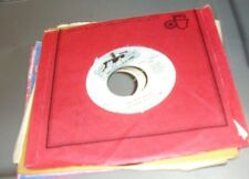 LOT OF 6 COLLECTABLES LABEL 45RPM RECORDS