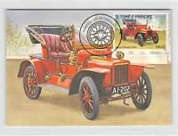 S.TOME MK AUTOS OLDTIMER ROVER PHAETON AUTO CARS CARTE MAXIMUM CARD MC CM m251