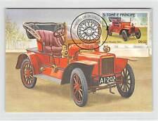 S. TOME MK Voiture Oldtimer ROVER Phaéton voiture CARS CARTE MAXIMUM CARD MC cm m251