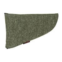 Tourbon Hunting Silicone Treated Pistol Sleeve Gun Sock Handgun Storage Green