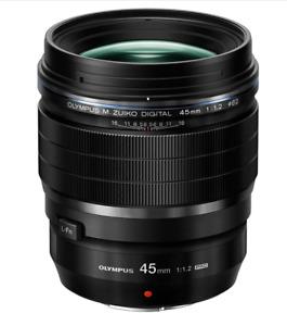 [NEAR MINT] Olympus M.Zuiko Digital ED 45mm F/1.2 Pro Lens from JAPAN (N654)