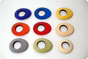 5x Bluestar Eyecushion Oval Extra Large