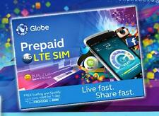 GLOBE Philippines Prepaid ROAMING SIM Card Mini Micro Nano 4G LTE w/ 500 Load