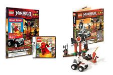 LEGO NINJAGO Masters of Spinjitzu Brickmaster Nintendo DS Video Game Bundle set