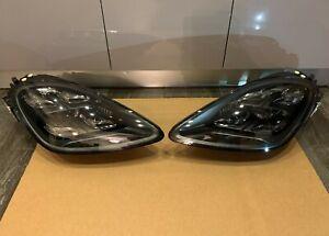 Porsche Cayenne 959 OEM TURBO GTS FULL LED Headlights SET LEFT & RIGHT + BALLAST