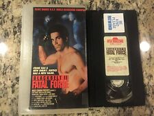 BLACKBELT II 2 FATAL FORCE OOP VHS! KICKBOXING MARTIAL ARTS ACTION BLAKE BAHNER!