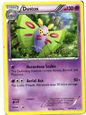 pokemon BW 6 DRAGONS EXALTED  stern karte 47/124 DUSTOX 130 HP