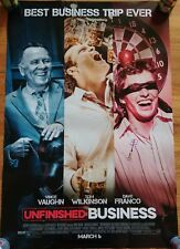 """UNFINISHED BUSINESS"" MOVIE POSTER 2 Sided ORIGINAL 27"" x 40"""