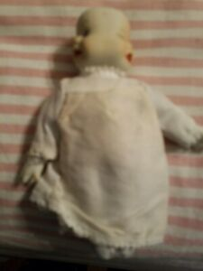 Vintage 3 Face Porcelain Doll (Happy, Mad, Sad)5.5 Inches