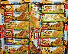 137 QUAKER CHEWY LUNCH BAG TREAT SNACK BAR ENERGY NUTRITION BARS 3 FLAVR FREE SH