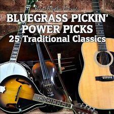 "BLUEGRASS PICKIN' POWER PICKS, CD ""25 TRADITIONAL CLASSICS"" NEW SEALED"