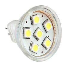 GU4 MR11 DC 12V 6 SMD 5050 LED Light Bulb 6000K - White C7Y2