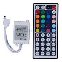 44Key IR Remote Controller for 5050 3528 SMD RGB LED Strip Light DC 12V
